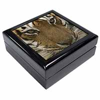 Face of a Bengal Tiger Keepsake/Jewel Box Birthday Gift Idea