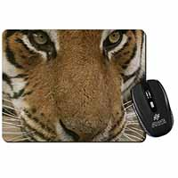 Face of a Bengal Tiger Computer Mouse Mat Birthday Gift Idea