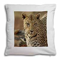 Leopard Soft Velvet Feel Cushion Cover With Pillow Inner