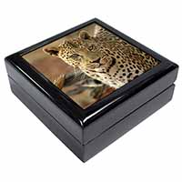 Leopard Keepsake/Jewellery Box Birthday Gift Idea