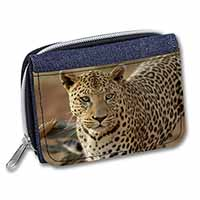 Leopard Girls/Ladies Denim Purse Wallet Christmas Gift Idea