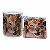Cute Lion Cub Mug+Coaster Christmas/Birthday Gift Idea