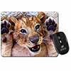 Cute Lion Cub Computer Mouse Mat Christmas Gift Idea