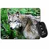 Grey Wolf Computer Mouse Mat Christmas Gift Idea