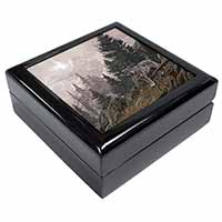 Mountain Wolf Keepsake/Jewel Box Birthday Gift Idea