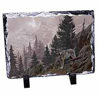 Mountain Wolf Photo Slate Christmas Gift Idea