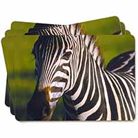 A Pretty Zebra Picture Placemats in Gift Box