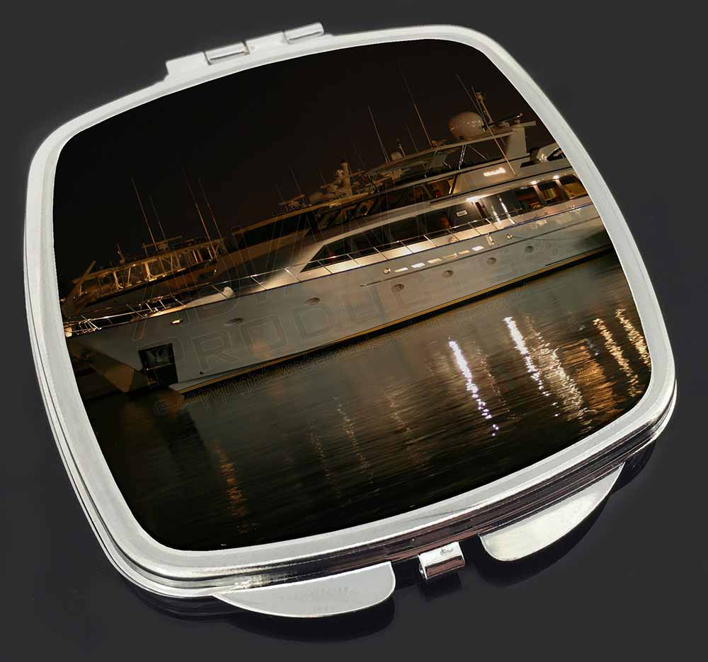 Yacht in harbour make up compact mirror stocking filler for Mirror yacht