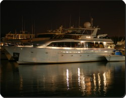 Yacht in Harbour, BOA-1
