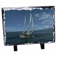 Sailing Boat Photo Slate Photo Ornament Gift