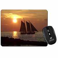 Sailing Boat Computer Mouse Mat Birthday Gift Idea