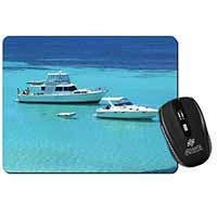 Yachts in Paradise Computer Mouse Mat Birthday Gift Idea