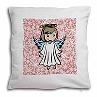 Christmas Angel Soft Velvet Feel Scatter Cushion