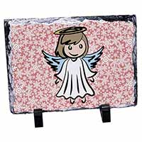 Christmas Angel Photo Slate Photo Ornament Gift