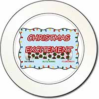 Christmas Excitement Scale Car/Van Permit Holder/Tax Disc Gift