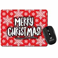 Merry Christmas Computer Mouse Mat Birthday Gift Idea
