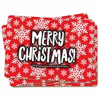 Merry Christmas Picture Placemats in Gift Box