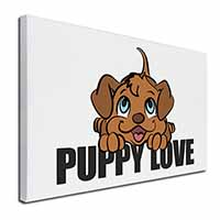 "Puppy Love Ex Large 30""x20"" Picture Wall Art"