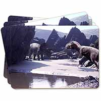 Dinosaur Print Picture Placemats in Gift Box