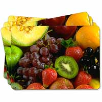 Fruit Picture Placemats in Gift Box