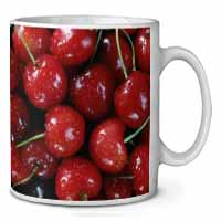 Red Cherries Print Coffee/Tea Mug Christmas Stocking Filler Gift Idea