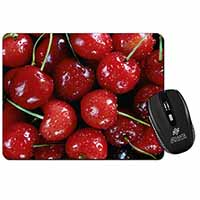 Red Cherries Print Computer Mouse Mat Christmas Gift Idea