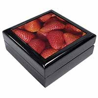Strawberries Print Keepsake/Jewellery Box Christmas Gift