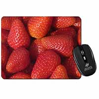 Strawberries Print Computer Mouse Mat Christmas Gift Idea