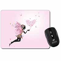 Fairy with Butterflies Computer Mouse Mat Birthday Gift Idea