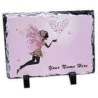 Fairy Hearts Personalised Photo Slate Christmas Gift Idea