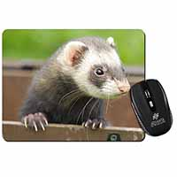 Ferret Print Computer Mouse Mat Birthday Gift Idea
