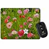 Poppies in Poppy Field Computer Mouse Mat Christmas Gift Idea