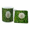 Dandelion Seeds Mug+Coaster Christmas/Birthday Gift Idea
