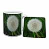 Dandelion Fairy Mug+Coaster Christmas/Birthday Gift Idea