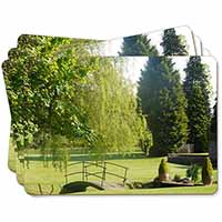 English Country Garden Picture Placemats in Gift Box