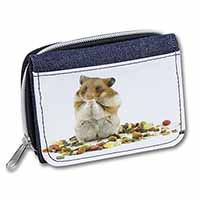 Lunch Box Hamster Girls/Ladies Denim Purse Wallet Christmas Gift Idea