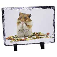 Lunch Box Hamster Photo Slate Christmas Gift Ornament