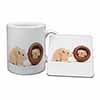 Hamsters in Play Pot Mug+Coaster Christmas/Birthday Gift Idea