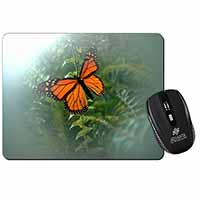 Red Butterfly in the Mist Computer Mouse Mat Birthday Gift Idea