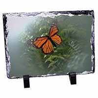 Red Butterfly in the Mist Photo Slate Christmas Gift Idea