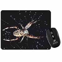 Spider on His Dew Drop Web Craft Computer Mouse Mat Birthday Gift Idea