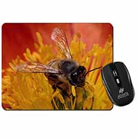 Honey Bee on Flower Computer Mouse Mat Christmas Gift Idea