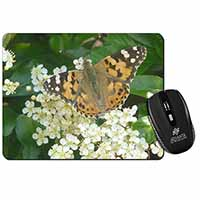 Painted Lady Butterfly Computer Mouse Mat Birthday Gift Idea