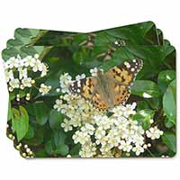 Painted Lady Butterfly Picture Placemats in Gift Box