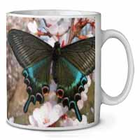 Black and Blue Butterfly Coffee/Tea Mug Gift Idea