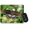 Butterflies, Brown Butterfly Computer Mouse Mat Christmas Gift Idea