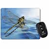 Dragonflies,Dragonfly Over Water,Print Computer Mouse Mat Christmas Gift Idea