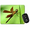 Dragonflies, Close-Up Dragonfly Print Computer Mouse Mat Christmas Gift Idea