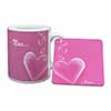 Pink Hearts Sentiment for