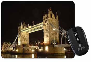 London Tower Bridge Print Computer Mouse Mat Birthday Gift Idea